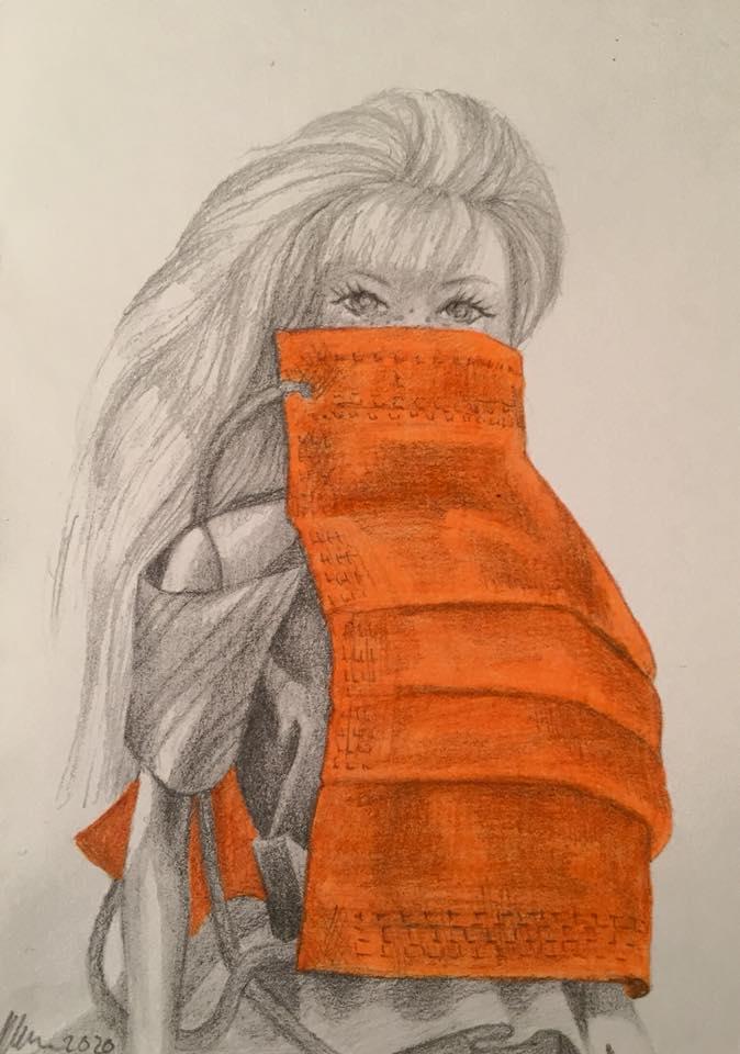 © 2020, Elyssa Sykes-Smith, Mask Shield_Barbie Covid-19 Edition