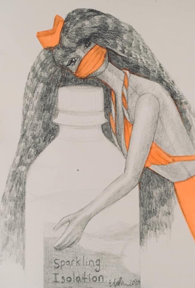 © 2020, Elyssa Sykes-Smith, Mermaid Barbie_Barbie, Covid-19 Edition